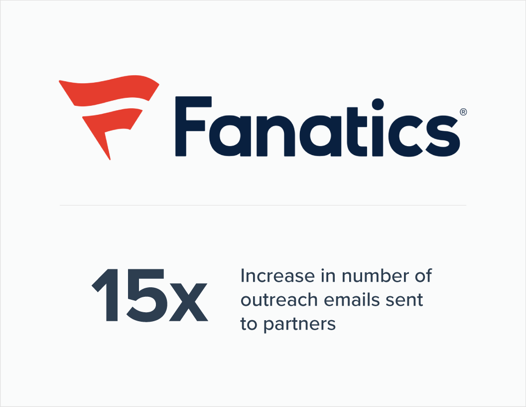 Case study: How Fanatics found their partners