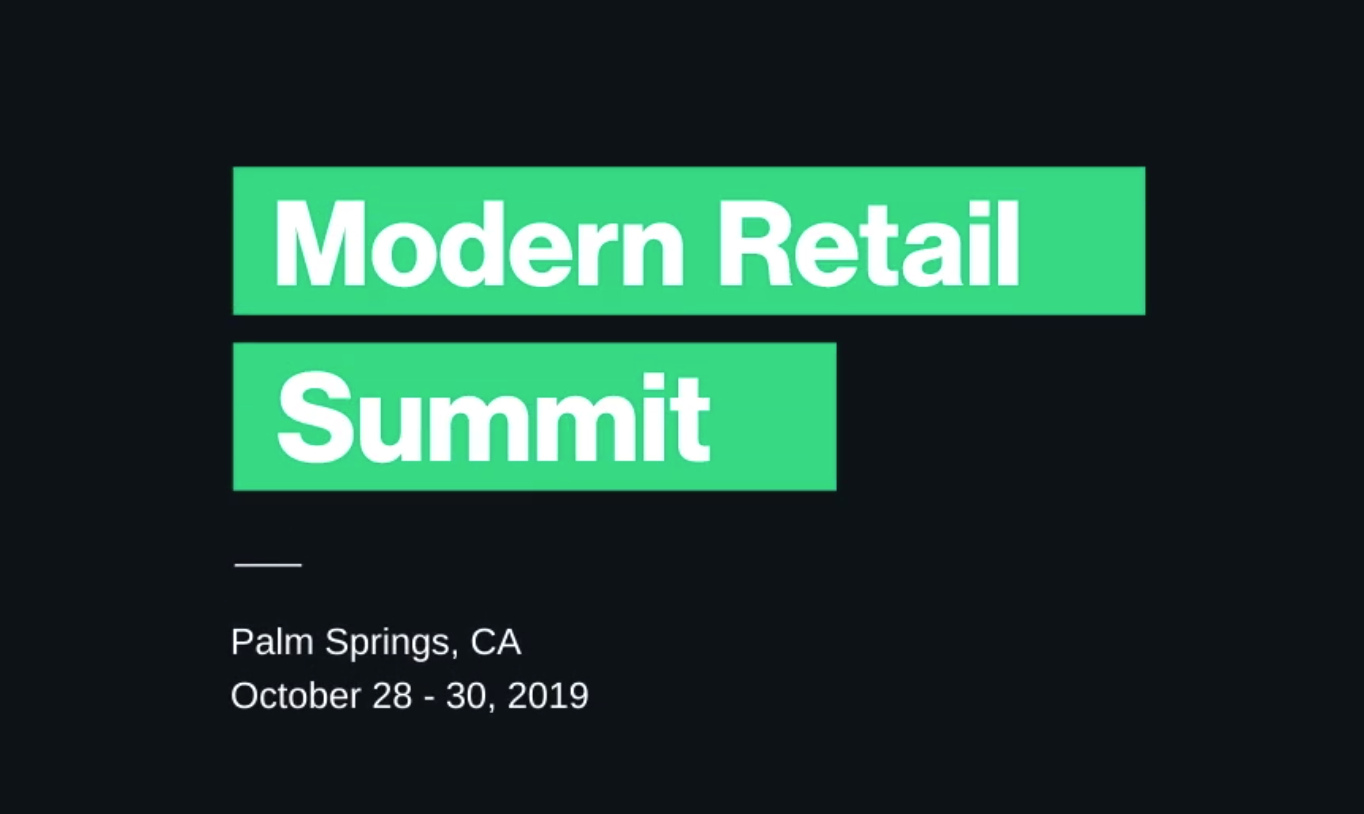 Modern Retail Summit, DigiDay Event, Palm Springs, CA