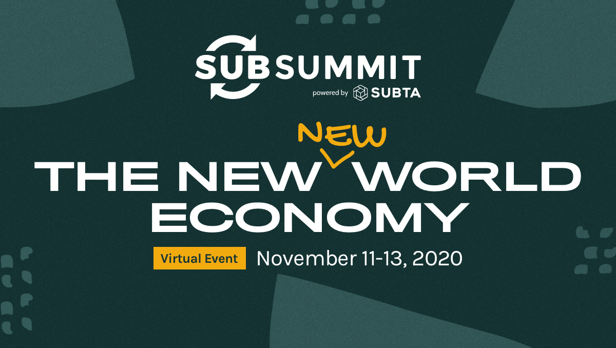 SubSummit 2020 Virtual with Impact