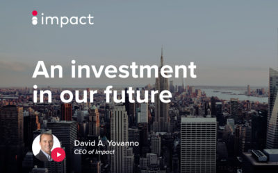 An investment in our future  —  with David A. Yovanno