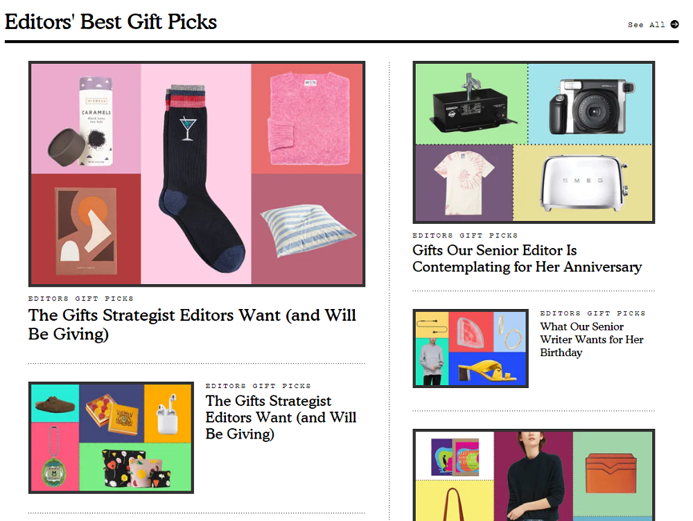 nymag editorial gift guide